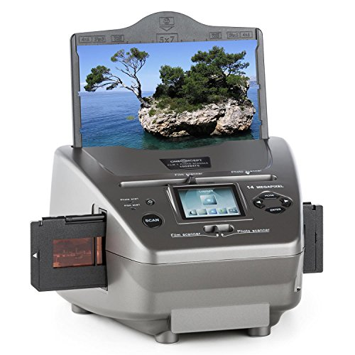 oneConcept 979GY Combo Scanner de photos • Diapo...