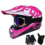 Die besten Full Face Motorradhelme - QYTK® Série MT-513 Motorradhelm, Full face Motocross Helm Bewertungen