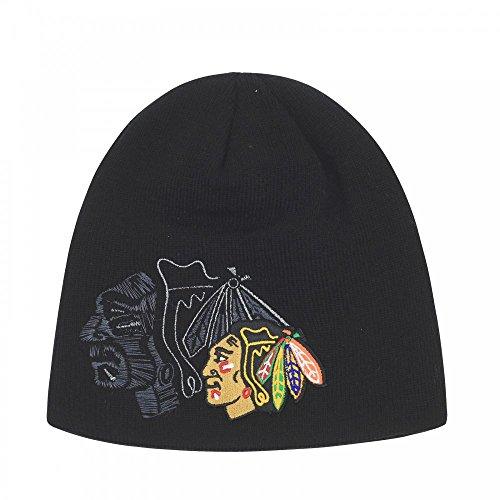 Zephyr NHL CHICAGO BLACKHAWKS Phantom Knit (Wintermütze)