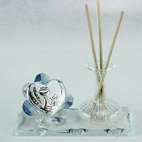 Dlm24783-azzurro profumatore in vetro per comunione_azzurro bomboniera
