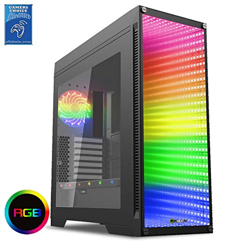 Game Max Abyss ATX Full Tower Temp Glass Frontscheibe -