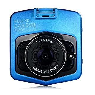 Gosin@ Mini Car DVR Camera DVRs Full HD 1080P Recorder Video Registrator Night Vision Box Car Cam Dash Cam (Blue)
