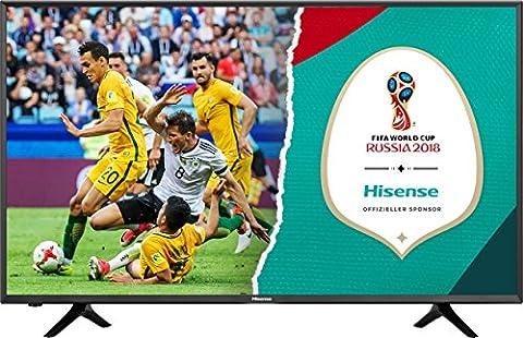 Hisense H55NEC5205 138 cm (55 Zoll) Fernseher (Ultra HD, Triple Tuner, Smart-TV)