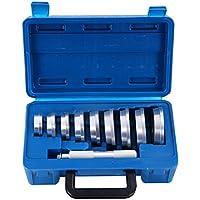 DASBET - Juego de 10 Herramientas de Aluminio para rodamientos de Eje y Sellado