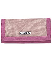Fantosy Beige and Pink Womens Wallet (Beige and Pink)(FNWC-187)