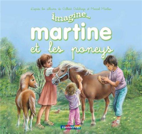 Martine et les poneys