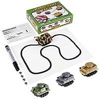 Comparador de precios Delicacydex Juguete inductivo automático con Magic Mini Pen Tank Modelo Serie Puzzle SIGA Cualquier Regalo Drawn Line Toys para niños - precios baratos
