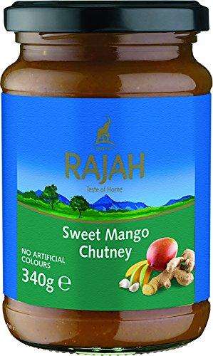 Rajah Mango Chutney, süß, 2er Pack (2 x 340 g)