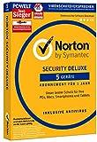SYMANTEC Norton Security Deluxe (5 Geräte - PC, Mac, Smartphone, Tablet) -