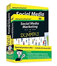 Social Media Marketing All-in-One For Dummies Book + DVD Bundle