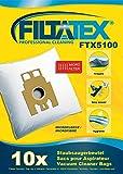 10 x FILTATEX sacs aspirateur Hoover TC5233 / hoover tc 5233 sensory - hoover sensory tc 5233 - hoover sensory cyclonic 2300w tc5233