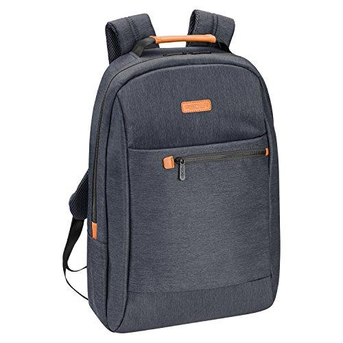 """PEDEA Laptop Rucksack """"Elegance"""" Unisex Business Schule Rucksack für Notebooks bis 17,3 Zoll (43,9cm) inkl. Tablet-PC Fach bis 10,1 Zoll (25,9cm), grau"""
