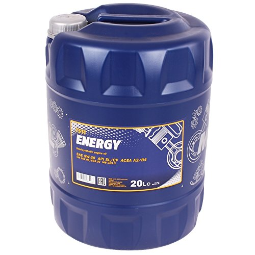 MANNOL Energy 5W-30 API SL/CF Motorenöl, 20 Liter