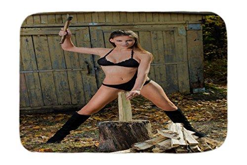 Cama Perro Diversión Sexy Hacker de madera impreso 40x60 cm