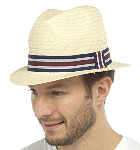 Tom Franks - Chapeau fedora - Homme Beige