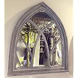 antikas espejo muy decorativo espejo grande de pared espejo con marco de madera