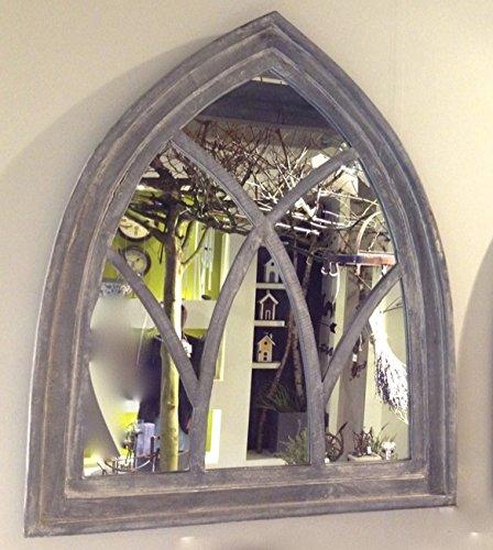 Antikas - espejo muy decorativo - espejo grande de pared - espejo con marco de madera - espejo vintage - espejos de pared - decoración pared