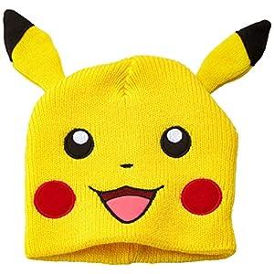 Pokémon Mütze mit Ohren: Pikachu