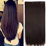 Best Extensions For Hairs - EKAN 5 Clips Hair Extension For Women Review