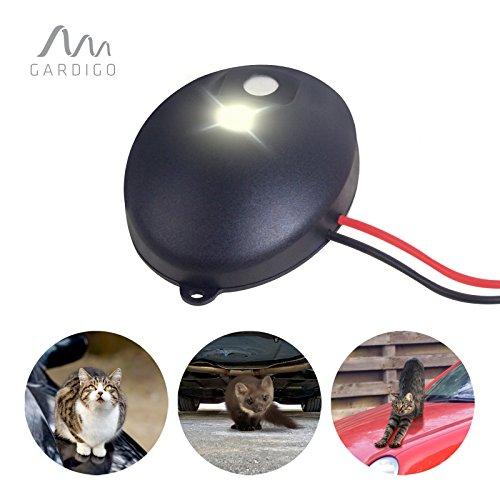 Preisvergleich Produktbild Gardigo Marder-Katzen-Frei | Marderschreck und Katzenschreck | 12 - 24 Volt für alle KFZ Automarken
