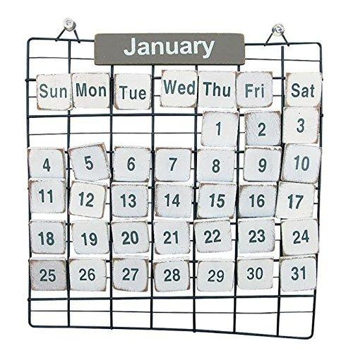Simple Wire Calendar