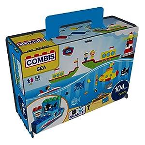 Game Movil Bloque de construcción Combinado en cartón (104 Piezas