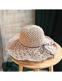 Cappello a Tesa Larga da Spiaggia Pescatore di Paglia per Donna d713bb63a2e8