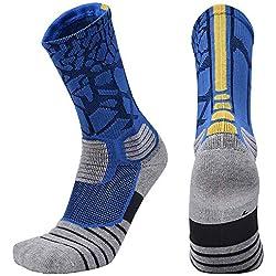OSAYES Calcetines de compresión graduada para hombres y mujeres, profesionales antideslizante durable calcetines de compresion para CrossFit, maternidad, deportes, viajes