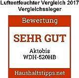 Aktobis Luftentfeuchter, Bautrockner WDH-520HB (bis 25 L/T) Vergleich