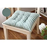 Kingko® Fashion New Candy Color Seat Pad Dining Room Garden Kitchen Office Chair Cushions (Green)