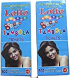 Artbox Housie Tambola /Lotto 1200 Tickets Two Set Of 600 Each.