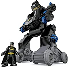 Idea Regalo - Mattel - DMT82 - Imaginext, Il Robot trasformabile di Batman