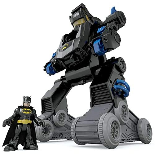 Fisher-Price Imaginext Batman, Bat-Robot transformable, juguete para niño + 3 años (Mattel DMT82) 4