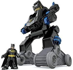 Imaginext Batman, Bat-Robot transformable, Juguete para niño +3 años (Mattel DMT82)
