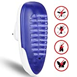 YUNLIGHTS Bug Zapper Light, Plug in Electric Fly Killer, 4W Indoor Insect Mosquito