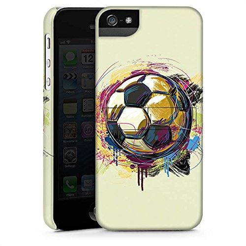 Apple iPhone X Silikon Hülle Case Schutzhülle Fußball Sport Ball Premium Case StandUp