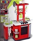 Smoby XXL 24632 Kinderküche Spielküche Loftküche mit elektronischen Brutzelgeräuschen und viel Zubehör