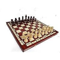 Great TOURNAMENT No.8 Le plus grand tournoi d'échecs en bois sur Amazon!