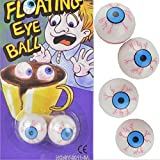 CXZC 2 Teile / para Halloween Eye Toys Horrific Festival Simulative Öffnen Kunststoff Augen Spielzeug