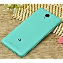 PREVOA ® 丨 Xiaomi Redmi NOTE 2 Funda - Original Batería Funda Reemplazo Cover Case Protictive Carcasa para Xiaomi Redmi NOTE 2 Smartphone 5,5 Pulgadas - (Verde)