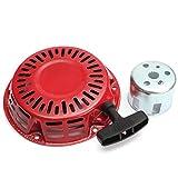 Alamor Arranque De La Tapa De Arranque Retroceso Arranque De Tracción Rojo Para Honda Gx120 Gx160 Motor Gx200