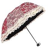 XG High-end doppio pizzo Fuge UV ombrelloni in vinile crema solare piegati pensano uomini e donne essenziali estivi