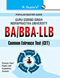GGSIPU: BA/BBA-LLB Common Entrance Test Guide: Test Paper (Solved) (Popular Master Guide)