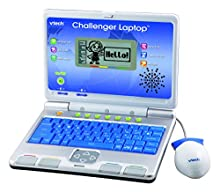 VTech - Laptop giocattolo, colore: Blu [lingua inglese]