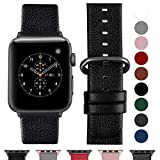 Fullmosa Compatible Apple Watch Bracelet 42mm/44mm(Serie 4) Cuir Véritable, Bracelet...