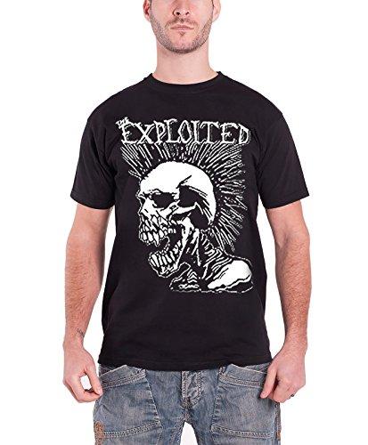 The Exploited - Top - Maniche corte  - Uomo nero Large