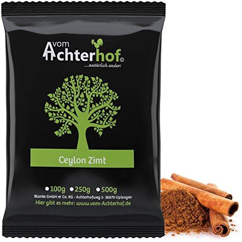 Ceylon Zimt gemahlen (1kg) mit wenig Cumarin in premium Qualität | 100% ECHTES Ceylon Zimt-Pulver