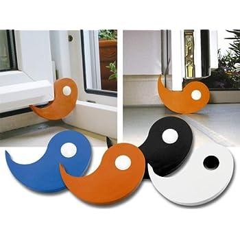 Tür- und Fensterstopper Flux 2er-Set blau Vollgummi 95 x 70 x 15 mm ...