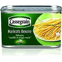 Cassegrain Cassegrain haricots beurre La conserve de 512g - Prix Unitaire - Livraison Gratuit Sous 3 Jours