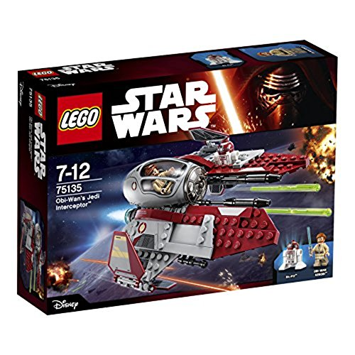 LEGO STAR WARS - Interceptor Jedi de OBI WAN...